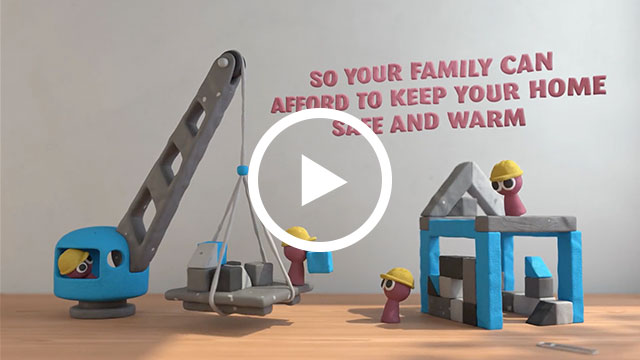 Fuel Your Family: Homes - Click to play video
